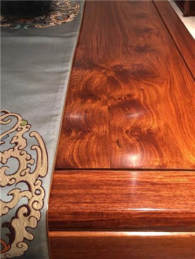 传天匠刺猬紫檀家具花纹细节图